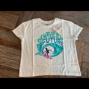 """Nwt Gymboree toddler girl """"wave of the future"""" tee"""